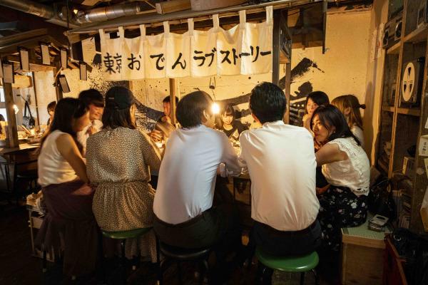 【銀座新橋・裏コリドー街】新たな出会いはおでん屋台で!東京おでんラブストーリー@裏コリがGrand Open!