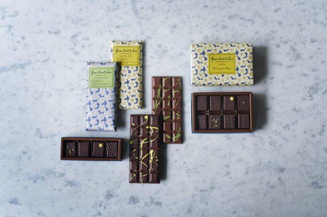 green bean to bar CHOCOLATE 満開の梅の花を彩ったバレンタインコレクションを発売