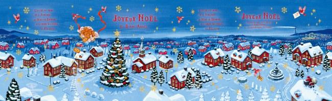 童話のような可愛いイラストパッケージが今年も登場!「ノワ・ドゥ・ブール」のクリスマスギフト。