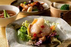 北京ダックに、ずわい蟹とふかひれのスープ、熱々の石焼麻婆豆腐やデザートも!全制覇したくなるホテル本格中国料理34品と、土日祝日は「牛フィレ肉」も食べ放題に!