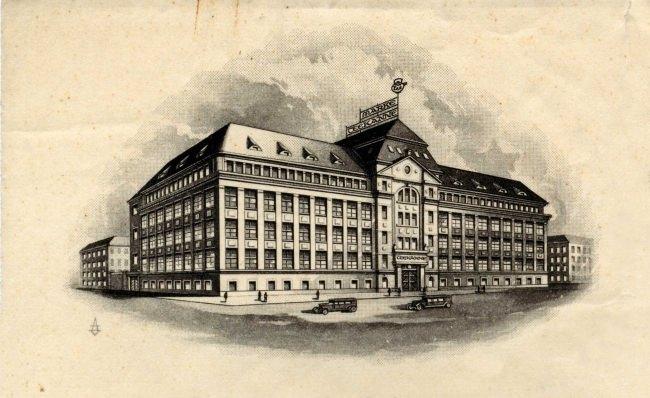 イメージ_1930-1945頃の本社ビル
