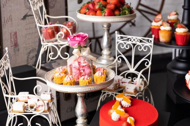 「Strawberry in Paris パリに恋して」ストロベリースイーツビュッフェ イメージ2