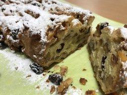 デイサービスで本格的シュトーレン作り~ドイツのクリスマスケーキ~