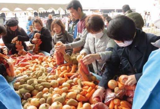 尼崎「食」の祭典 尼崎市公設地方卸売市場で 「冬の味覚祭り」を開催