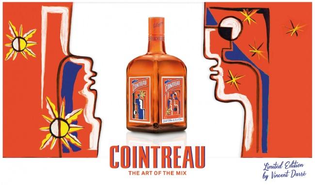 プレミアムオレンジリキュール コアントロー ヴァンサン・ダレ デザインボトル期間限定出荷のご案内
