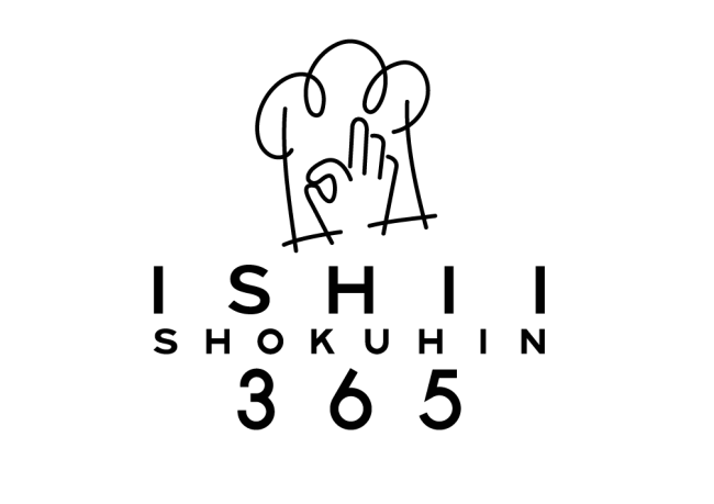 「ISHII SHOKUHIN 365」ロゴ