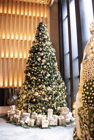 ニコライ バークマン監修の6メートルのクリスマスツリーが登場!