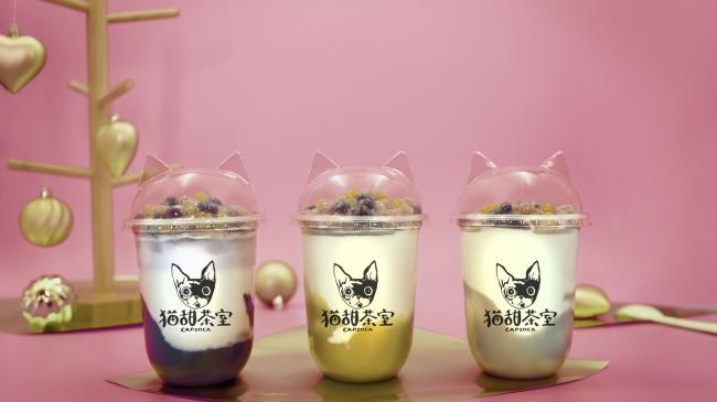 台湾名産地の芋を使用したマッシュミルクが新登場!!黄金さつまいも・大甲タロイモ・紫芋の芋尽くしドリンクを提供