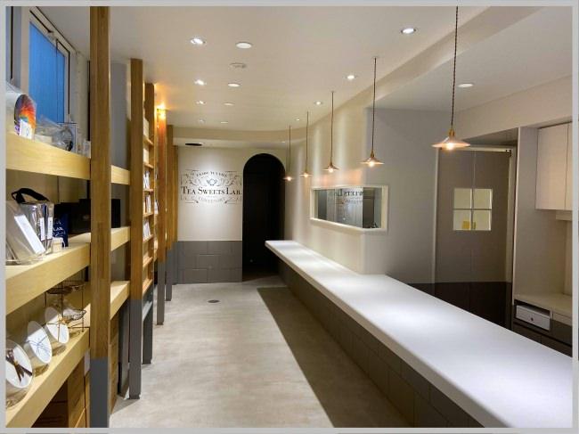紅茶のかき氷が人気のTea Shopコンテナートが新店舗「紅茶のスイーツ専門店」をオープン