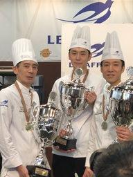 ベーカリーのワールドカップで帝国ホテル 東京 二宮茂彰の参加する日本チームが2位に入賞!