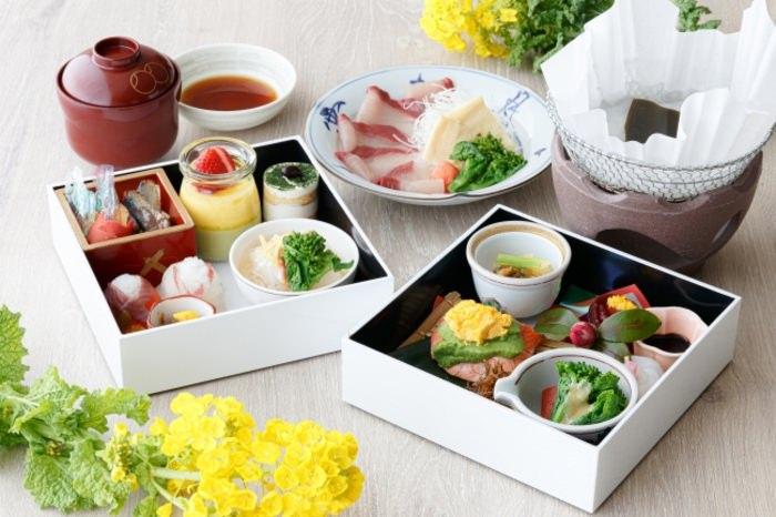 【琵琶湖マリオットホテル 】満開の菜の花とともに、春の訪れを味わう2月限定ランチボックス 「NANOHANA」を発売