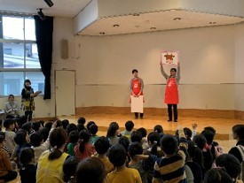 山形県の保育園で『おにくの食育』教室を1月24日に開催  クイズやたいそうで楽しく食育! 「山形牛入りハンバーグ」を給食用に提供