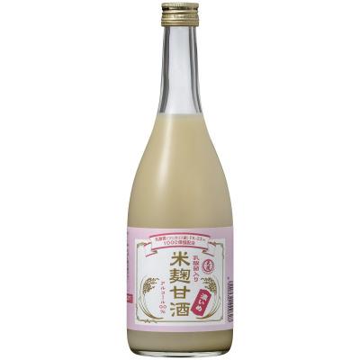 ~ 毎日の健康管理に ~ 「乳酸菌入り米麹甘酒 濃いめ770G瓶詰」新発売!