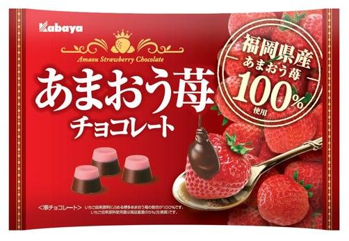 福岡県産博多あまおう苺100%使用!『あまおう苺チョコレート』2020年2月25日(火)発売