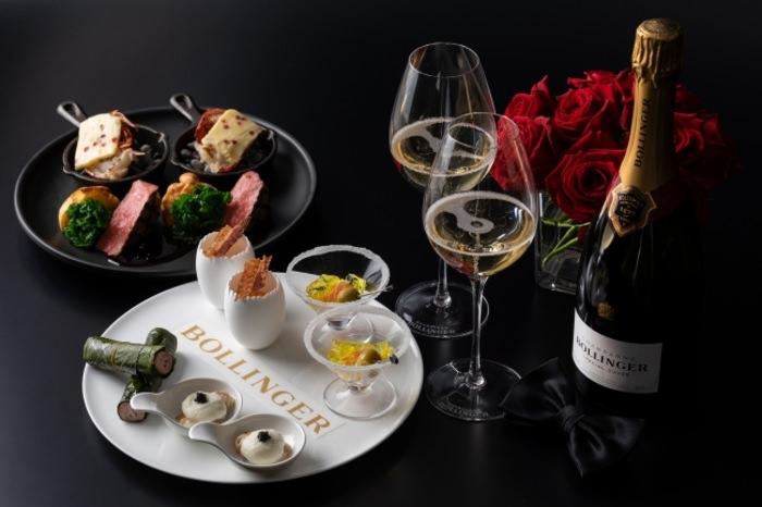 【東京マリオットホテル】 ジェームズ・ボンドが愛したシャンパン「ボランジェ」のフリーフローとともに楽しむ、イブニングハイティーを提供