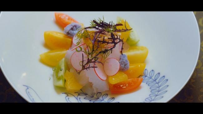 長崎鮮魚のカルパッチョ