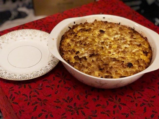 フィンランドの家庭料理「マカロニラーティッコ」