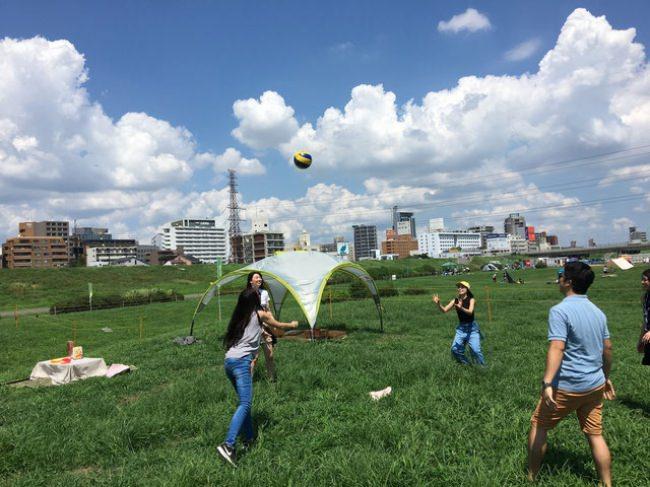 淀川河川公園~西中島地区限定~で遊び道具無料レンタル開始!