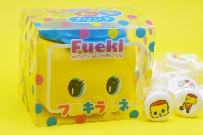 【関西限定】水色帽子のフエキくん!ご当地土産「フエキプリントラムネ」新発売