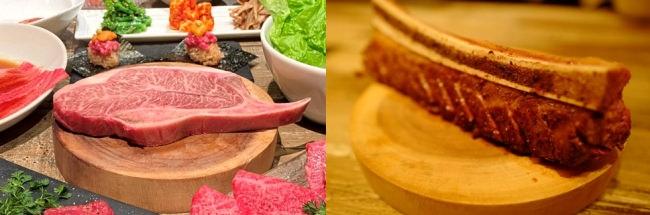 総量350g!極厚骨付き肉を、口いっぱいにほおばる美味しさ『骨付きKINTANカルビ™』『日本一の骨付きKINTANミスジ™』を含む新コース3種(5,380円~)が登場!