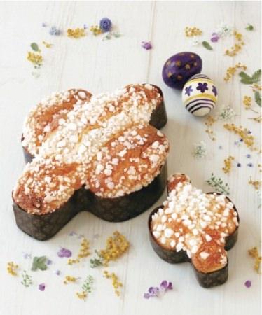 ドンク「コロンバ(小)」 562円  イースターを祝うイタリア伝統のお菓子。