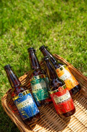 現在販売している4種類のビール