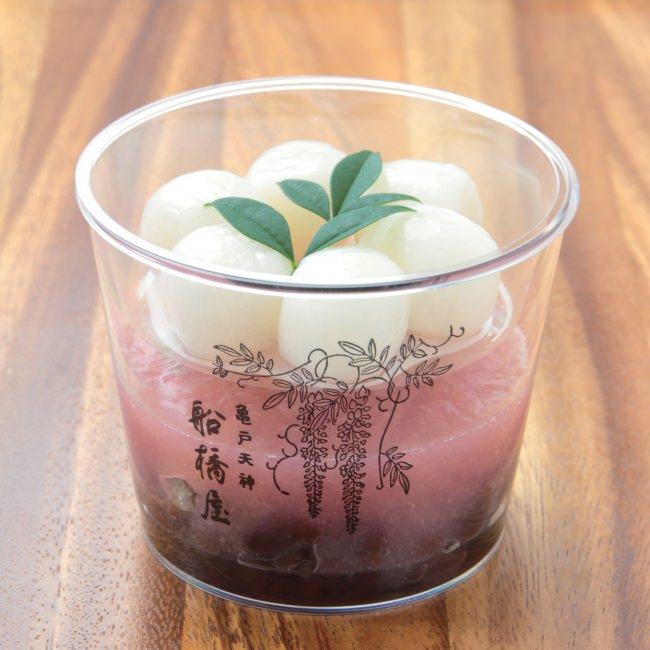 暑い日にはさっぱりと!みずみずしい白桃をふんだんに使用した和スイーツを船橋屋こよみにて販売いたします。