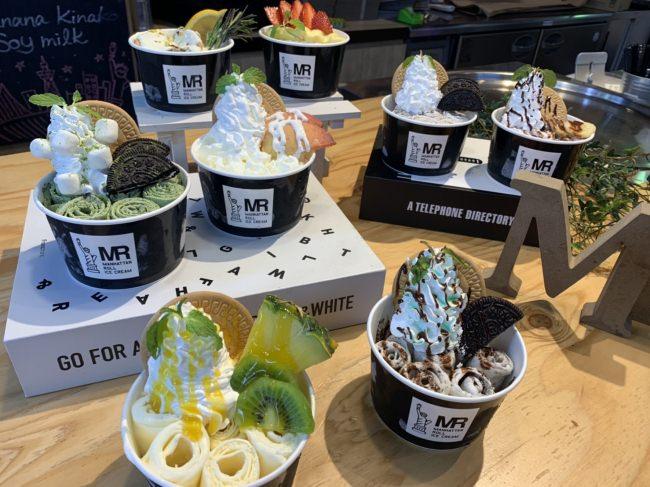 国内一の店舗数を誇るロールアイス専門店「マンハッタンロールアイスクリーム」、有明ガーデンにNEW OPEN!