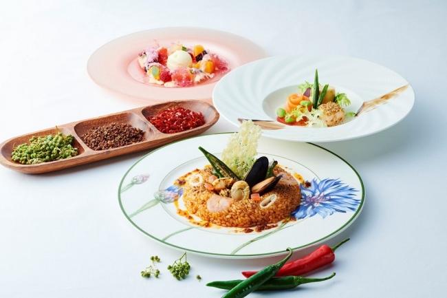 横浜ロイヤルパークホテル スパイシーな料理でパワーチャージ「夏のシビ辛コース~フローラスタイル~」