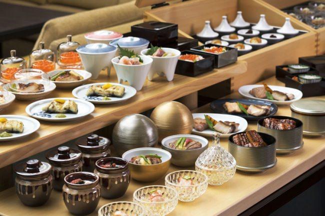 和食エリアの個々盛り イメージ