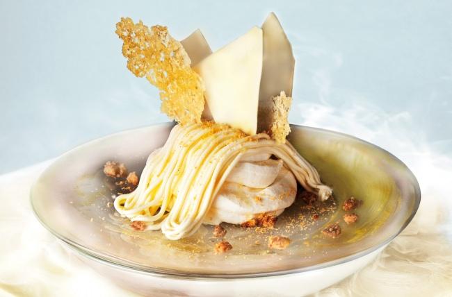 """口どけとろ~り """"ふわとろ"""" 食感がクセになる!北海道チーズをたっぷりと使用した「濃厚エアリーチーズ生モンブラン」スタート"""