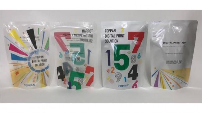 新開発した接着剤によりレトルト対応が可能になった製品サンプル © Toppan Printing Co., Ltd