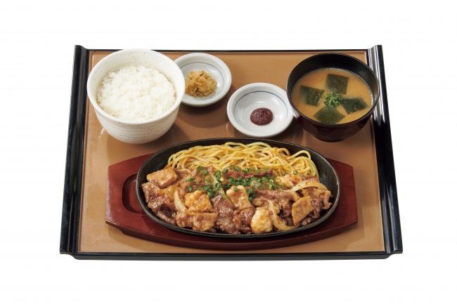 『特牛カルビ&ホルモン焼定食』1,290円(税込)