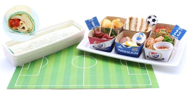 第四節 FC東京戦用「スタグルBOX」(トリコロールアペタイザー6種と得点トルティーヤ)