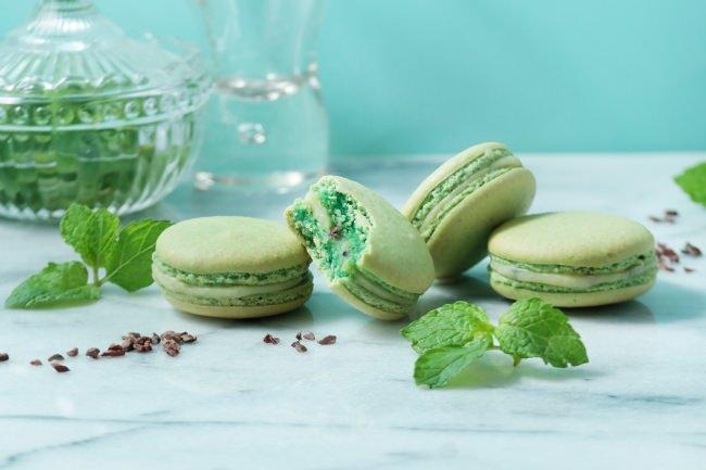 【セバスチャン・ブイエ】季節の味が楽しめるマカロン デュ モモンにチョコミント味が登場!