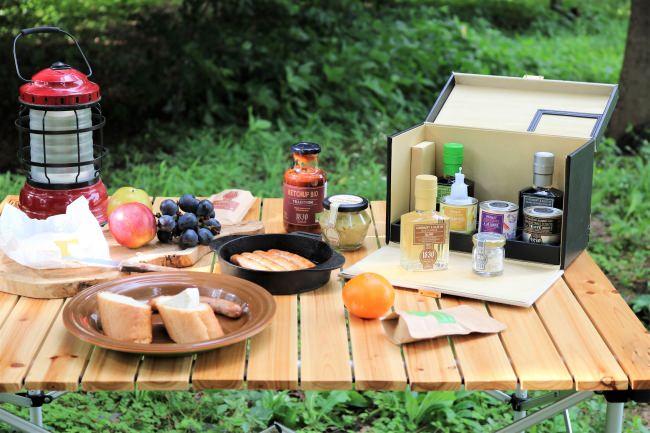 こだわりの調味料で、ワンランク上のキャンプをお楽しみいただけます。