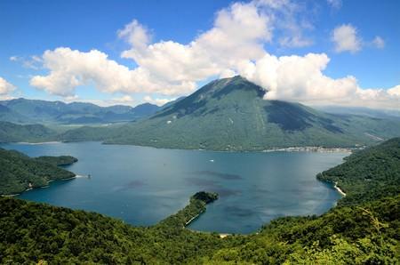 中禅寺湖と男体山(日光)