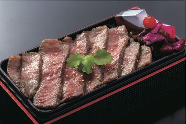 神戸「蔓牛焼肉 太田家」神戸牛赤身ももステーキ弁当 2880円