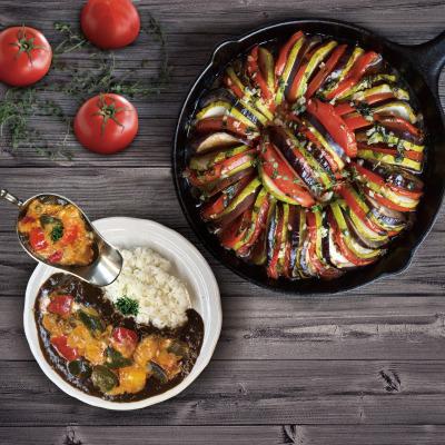 夏野菜のラタトゥイユチーズカレーを100時間カレーで販売開始!