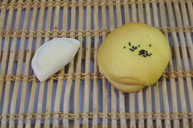 【バター香るおさつパン】