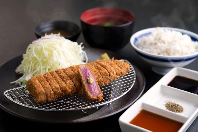 【元祖・赤】牛ロースカツ膳