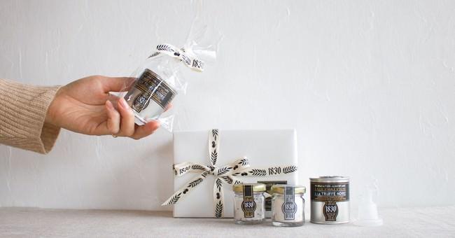 「贅沢トリュフづくしセット(レシピ付き)」を購入した方全員にセット商品の中のいずれか1点を無料でプレゼント