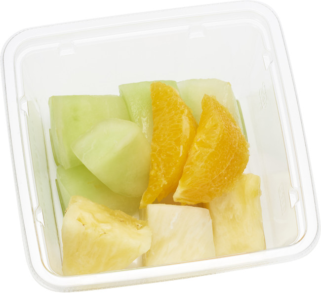 フルーツを食べる健康習慣(パイン・メロン・オレンジ)