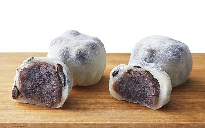 大阪「和-水都饌菓」 ※あんの両 右 約30% 左 通常