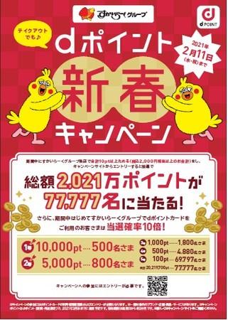 dポイント新春キャンペーン