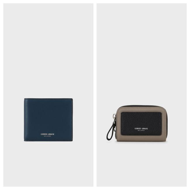 GIORGIO ARMANI 左:財布 58,300 右:カード入れ48,400円円