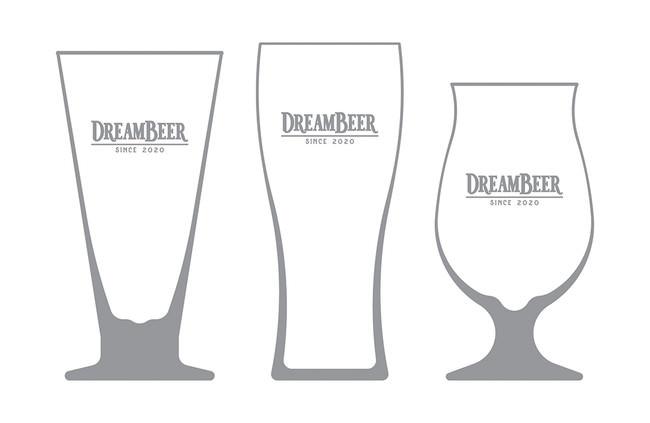 (左より)ピルスナーグラス・エールグラス・チューリップグラス
