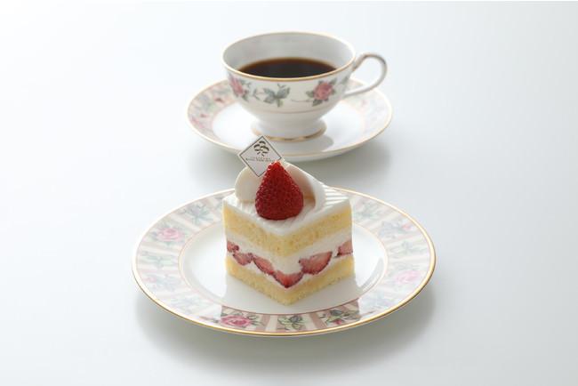 ホテルメイドのケーキ
