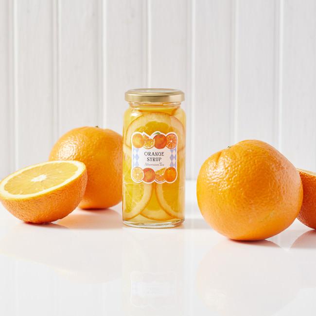 オレンジシロップ