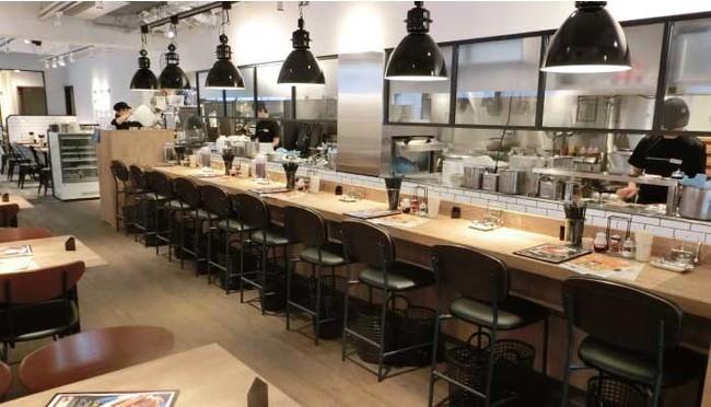 たまプラーザ店店内 カフェ風、居酒屋風など個性豊かな全9店舗。コロナ対策中!